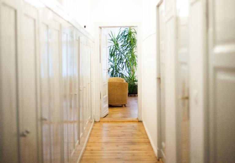 Durchgang in der Praxis Paartherapie Berlin Charlottenburg