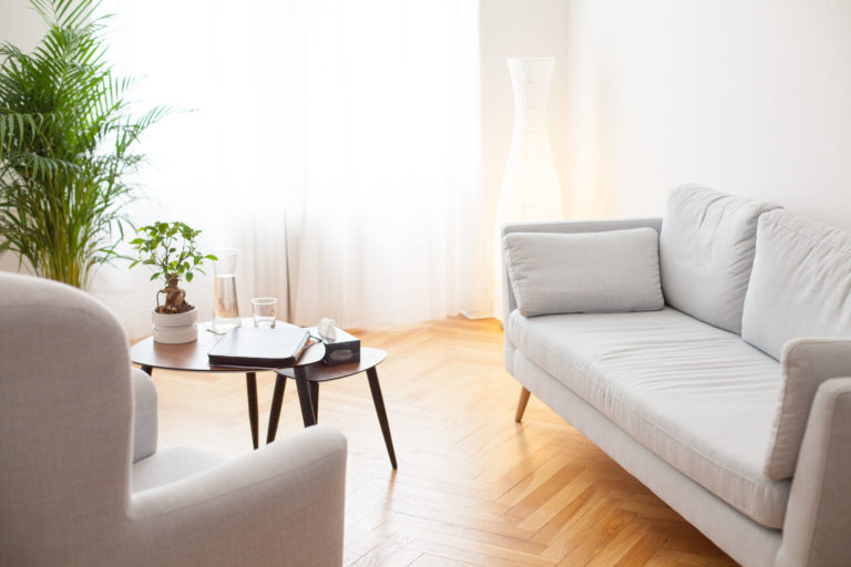 Behandlungsraum der Praxis Paartherapie Berlin Charlottenburg